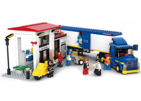 SLUBAN HEAVY DUTY VAN TRUCK SET