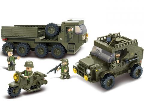 Sluban Educational Block Toys Army