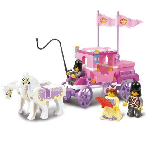 SLUBAN Educational Block Toy GIRL'S DREAM TOY