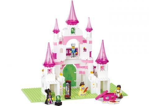 SLUBAN Educational Block Toy GIRL'S DREAM
