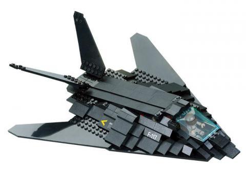 Sluban Educational Block Toys Air force M38-B0108