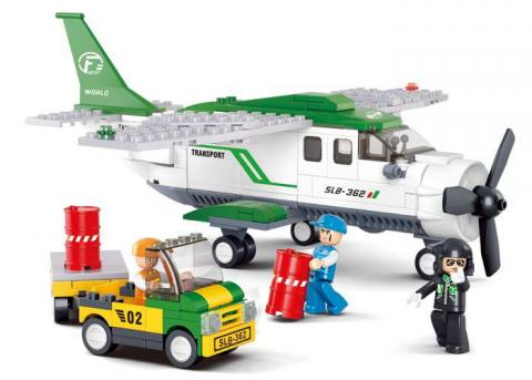 Sluban Educational Block Toys C-mini-transport plane M38-B0362 Set
