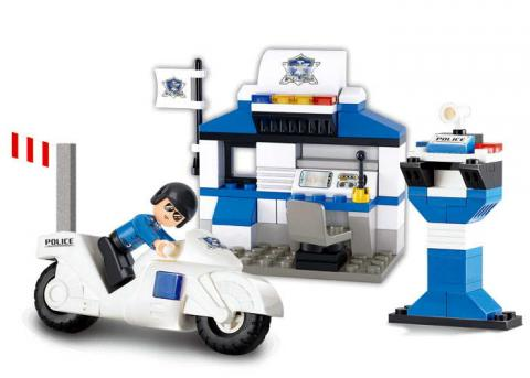 Sluban Educational Block Toys City Police Station Sets