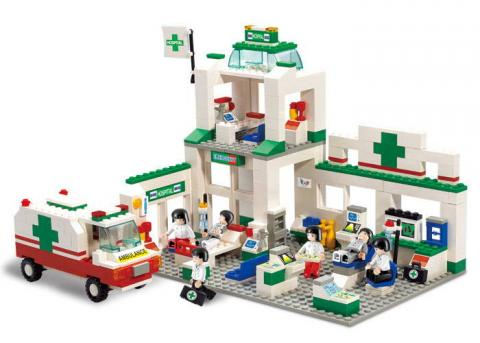 Sluban Educational Block Toy Emergency Center Set