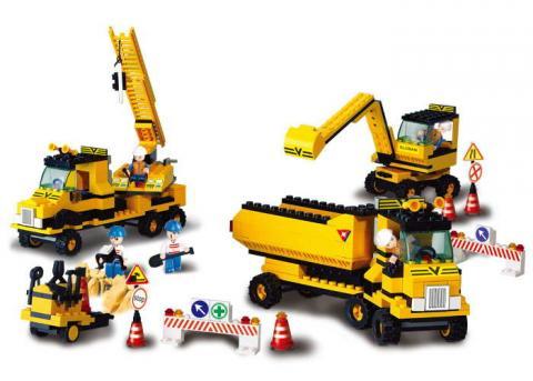 Sluban Educational Block Toy Heavy Engineering