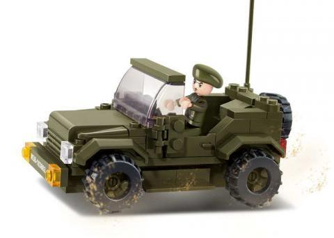 SLUBAN Educational Block Toys PROWL CAR