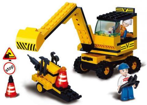 SlubanEducational Block Toy Rooter Set