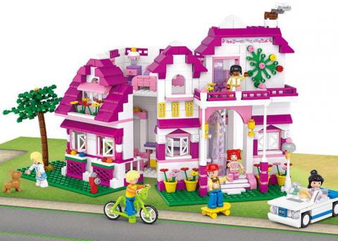 Sluban Educational Toys  Bricks Seaside Villa
