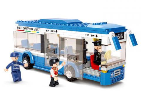 Sluban Lego Single Decker M38-B0330 Set