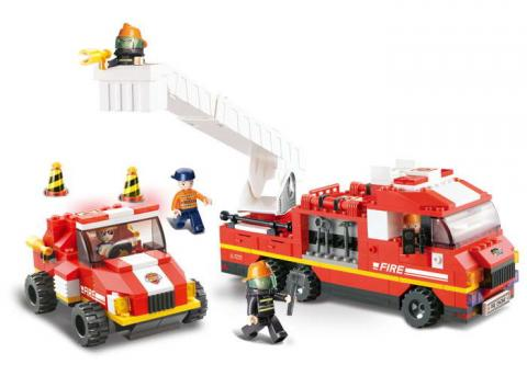 Sluban Educational Block Toy Set Special Fire Brigade M38-B0223 Set