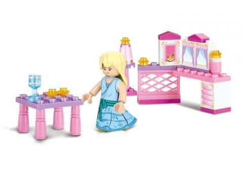 Sluban Educational Block Toy The Princess' Little Room