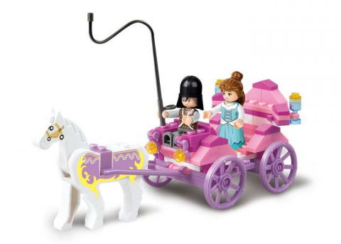 Sluban Educational Block Toy The Princess' Carriage Kit