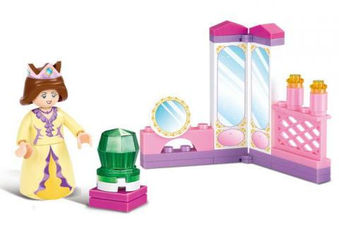Sluban Educational Block Toy The Queen's Toy