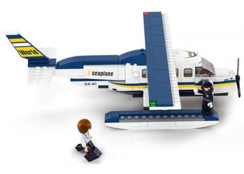 Sluban Educational Block Toy Set Z-Seaplane M38-B0361