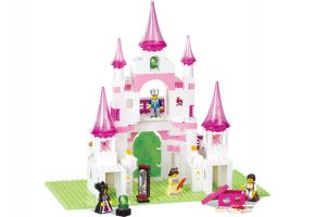 SLUBAN Educational Block Toy GIRL'S DREAM