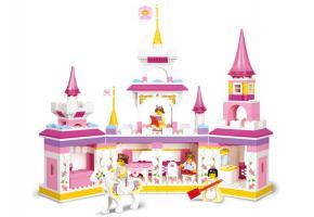 Sluban Girl Theme Popular Choice For Educational Block Toy