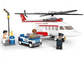 SLUBAN LEGO BLOCKS HELICOPTER
