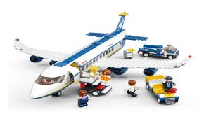 SLUBAN Educational Block Toy PASSENGER AIRPLANE SET