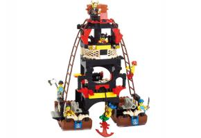 SLUBAN Educational Block Toys PIRATE