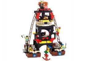 SLUBAN Educational Block Toys PIRATE