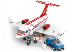 SLUBAN Educational Block Toy PRIVATE AIRPLANE SET