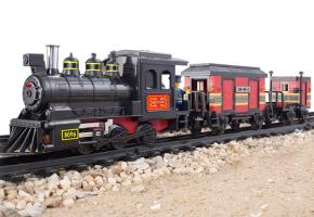 SLUBAN Educational Block Toys RAILWAY STATION SET