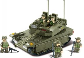 SLUBAN Educational Block Toys SET TANK