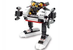 SLUBAN Educational Block Toy X1-HESSEN CHASER