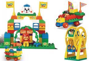 Slubano Educational Block Toy Amusement Park Educational Toy M38-B6012