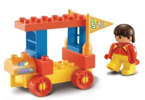 Sluban Educational Block Toy Amusement Park Brick Toy M38-B6021 Set