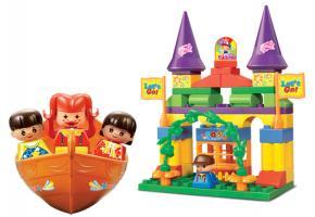 Sluban Educational Block Toy Amusement Park Building Block Toy M38-B6025 Set