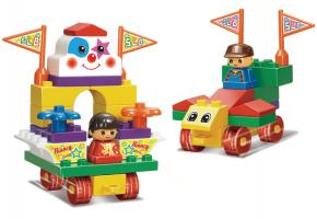 Sluban Educational Block Toy Game Amusement Park Educational Toy M38-B6008