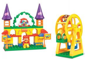 Sluban Educational Block Toy Amusement Park Educational Toy M38-B6026 Set
