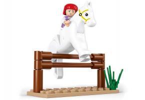 Sluban Lego Eqestrian Toy