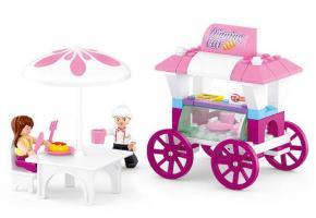 Sluban Educational Block Toy Toys Food Carriage