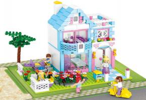 Sluban Educational Toys  Garden Villa Set