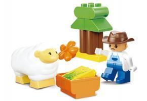 Sluban Educational Block Toys Happy Farm Learning Toy M38-B6015