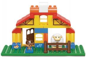 Sluban Educational Block Toys Happy Farm Brick Toy M38-B6003 Toy