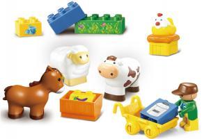 Sluban Educational Block Toys Happy Farm Brick Toy M38-B6016 Set