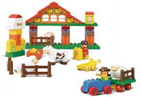 Sluban Educational Block Toys Happy Farm Building Block Toy M38-B6005