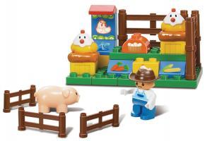 Sluban Educational Block Toys Happy Farm Educational Toy M38-B6001 Set