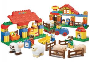 Sluban Educational Block Toys Happy Farm Educational Toy M38-B6007