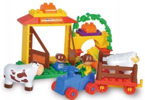 Sluban Educational Block Toys Happy Farm Educational Toy M38-B6018