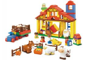 Sluban Educational Block Toys Happy Farm Educational Toy M38-B6020
