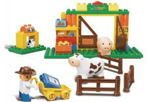 Sluban Educational Block Toys Happy Farm Learning Toy M38-B6002