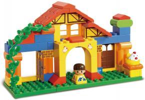 Slubang Educational Block Toys Happy Farm Learning Toy M38-B6019