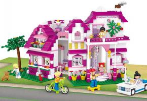 Sluban Lego Bricks Seaside Villa