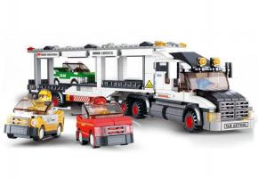 Sluban Lego Track Transporter City