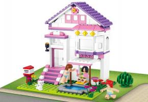Sluban Educational Block Toy Villa with Pool M38-B0532 Set