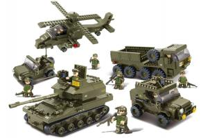 Sluban Educational Block Toys Toys Tank Military Set